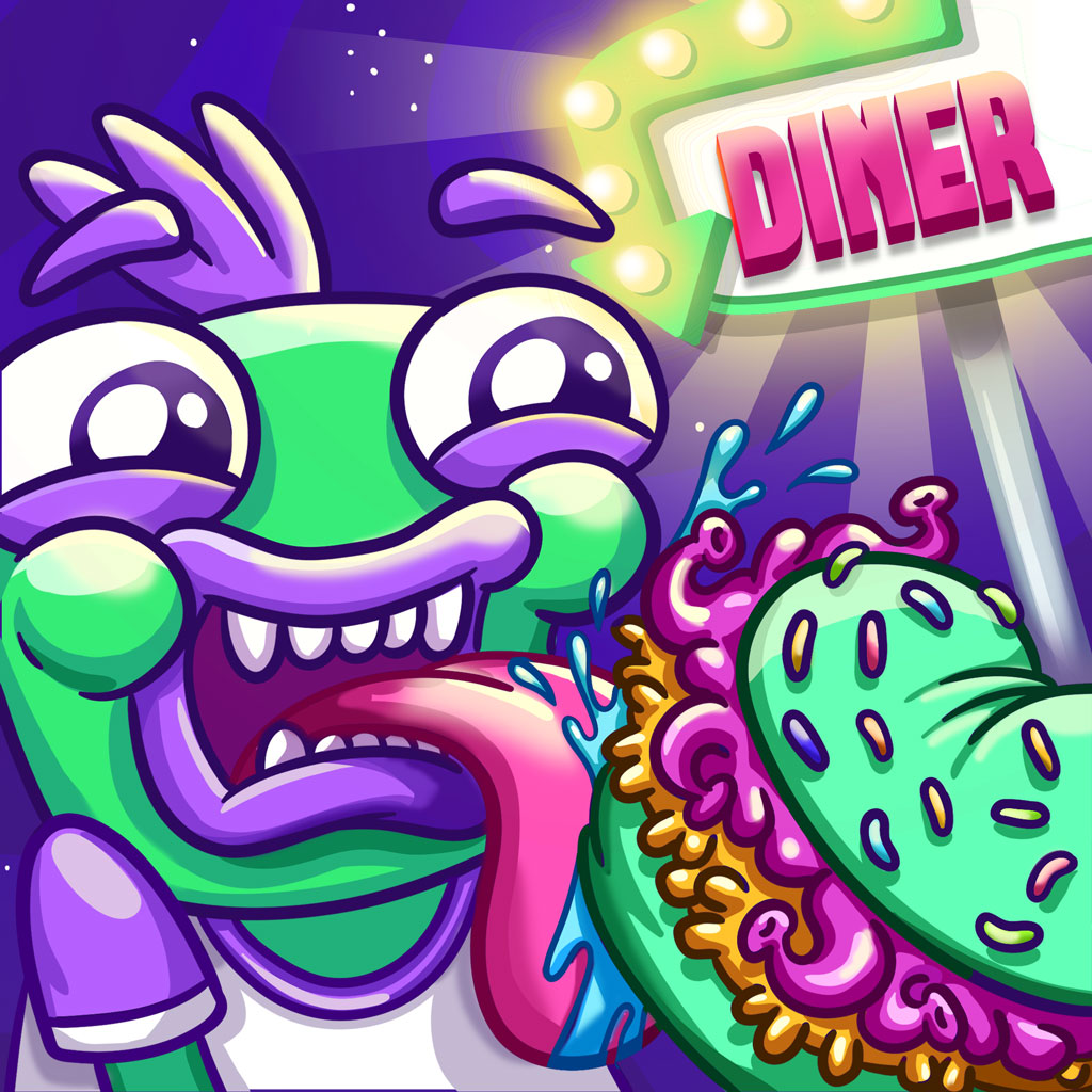Space Diner game icon
